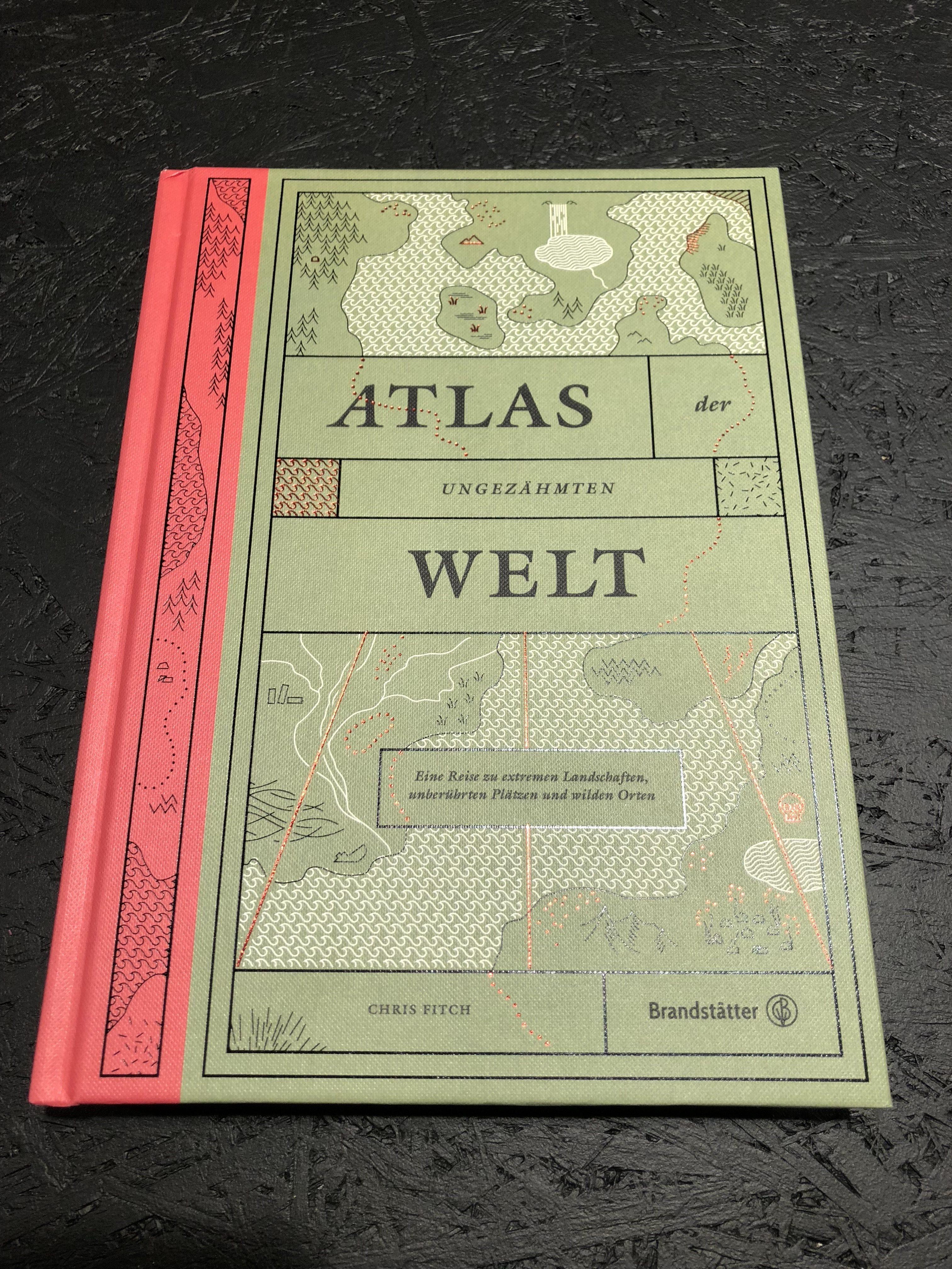 Abenteuer Welt Atlas Not Another Concept Store